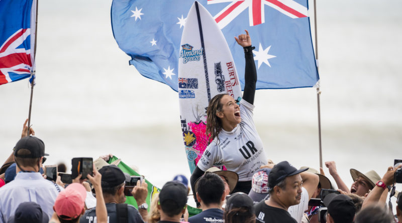 Sally Fitzgibbons conquista o titulo do ISA Games