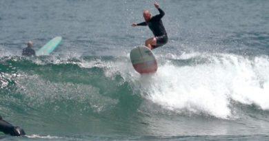 Phil Rajzman é o destaque do primeiro dia do Surf Relik