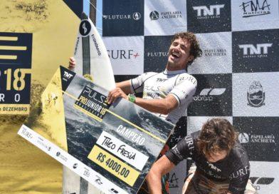 Theo Fresia é o novo campeão Brasileiro Pro Jr.