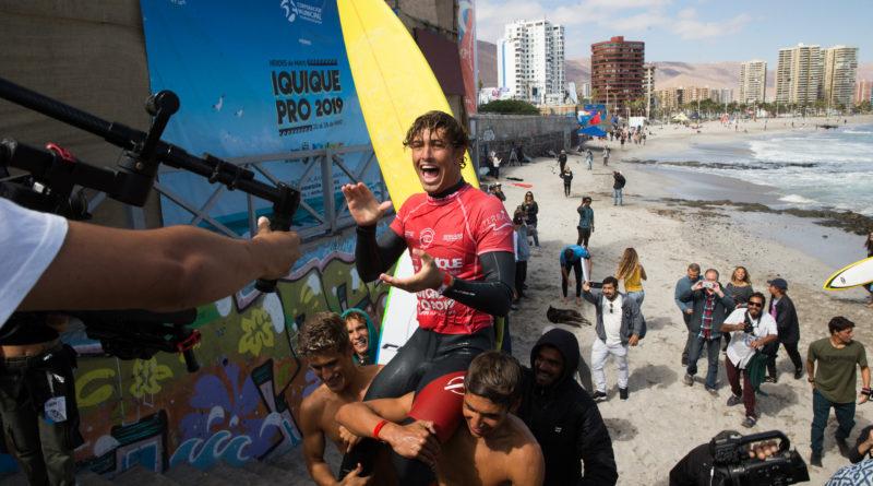 João Chianca comanda o show e conquista o QS3000 Héroes de Mayo Iquique Pro no Chile