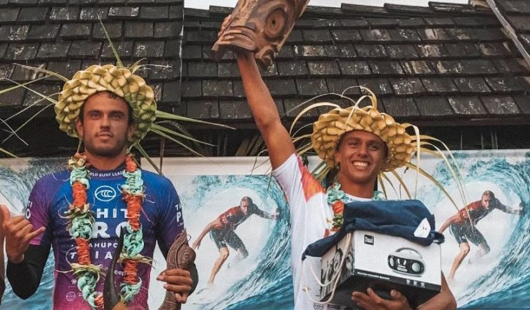 Tyler Newton e Kauli Vaast   ganham as últimas vagas para o Tahiti Pro Teahupo'o