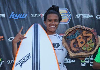 Júlia Santos e Artur Silva são os campeões brasileiros de surf 2019