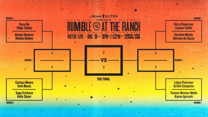 WSL revela chave de baterias do Rumble at the Ranch