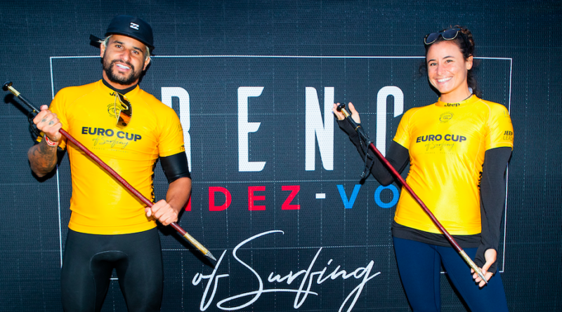 Italo Ferreira e Johanne Defay conquistam o título do French Rendez-Vous of Surfing