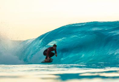Gabriel Medina testam piscina de ondas da Praia da Grama