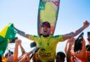 Gabriel Medina é tricampeão mundial da WSL